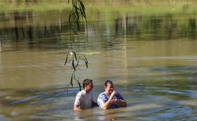 Baptism in Queenland