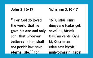 Bi-lingual Bible Passages